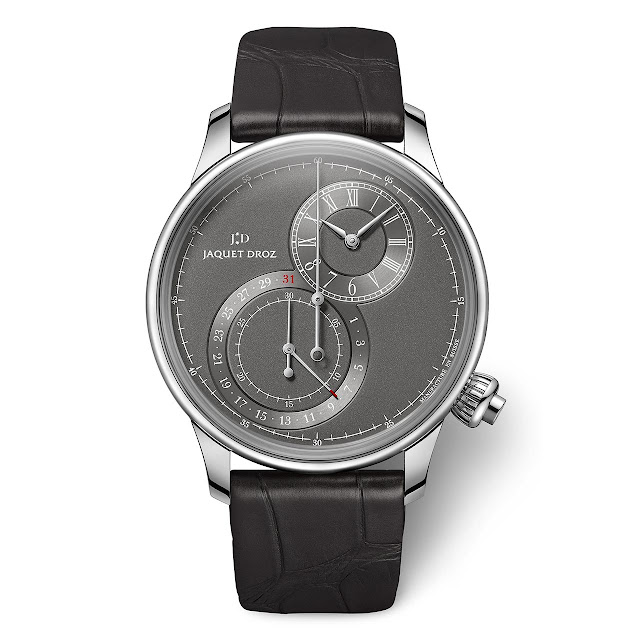 Jaquet Droz Grande Seconde Chronograph Gray