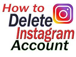 How to delete instagram account 2019