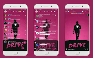 Scorpion Drive Theme For YOWhatsApp & Fouad WhatsApp By Leidiane