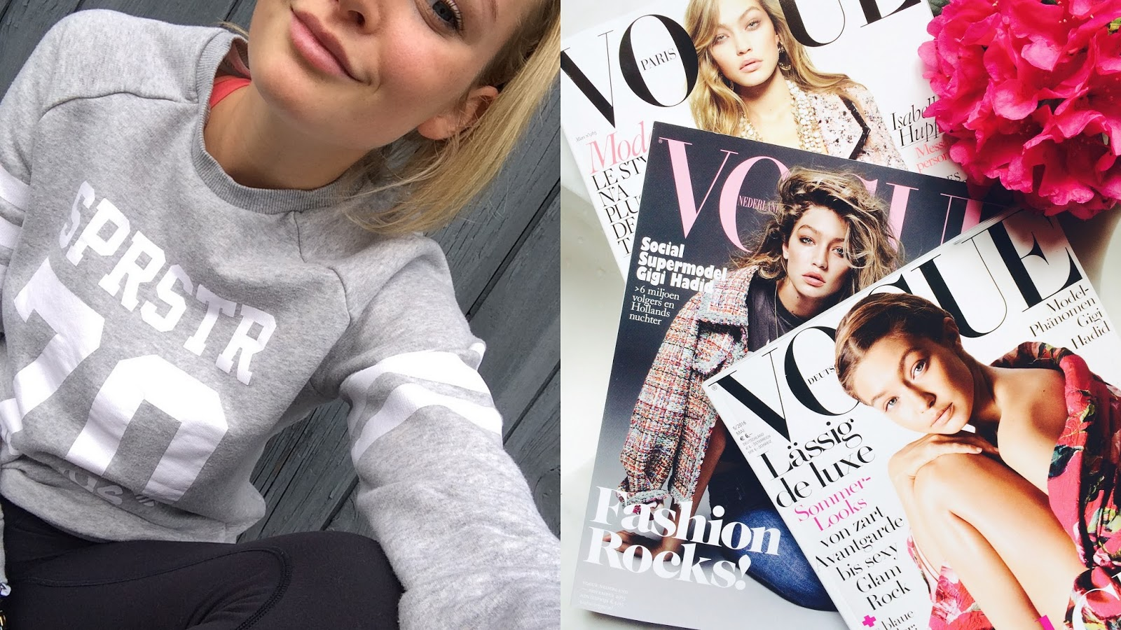 Gigi Hadid vogue covers