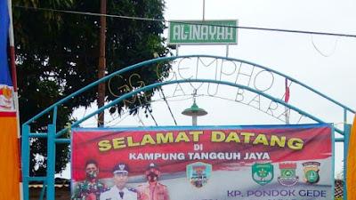 """Bupati Tangerang Apresiasi Kampung Tangguh, """"Pemdes Kampung Melayu  Barat Siap !"""