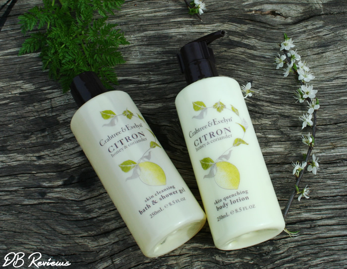 Crabtree & Evelyns Citron Honey And Coriander Collection