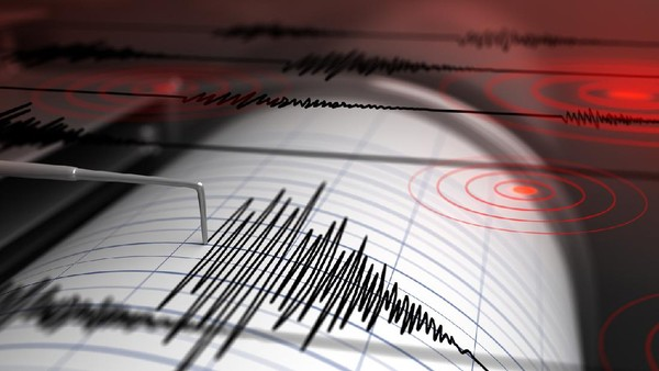 Gempa M 5,4 Guncang Maluku Tengah