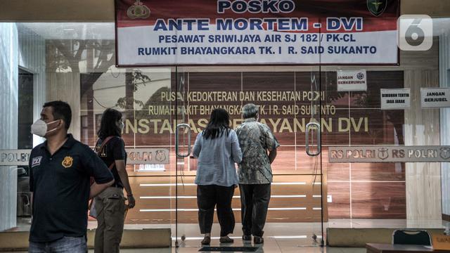 Tiga Teridentifikasi, Total 43 Korban Sriwijaya Air Dikenali