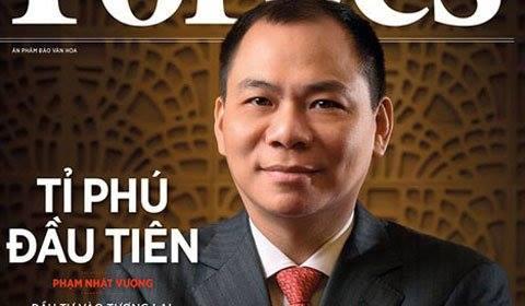 Tỉ phú đầu tiên Việt Nam Phạm Nhật Vượng