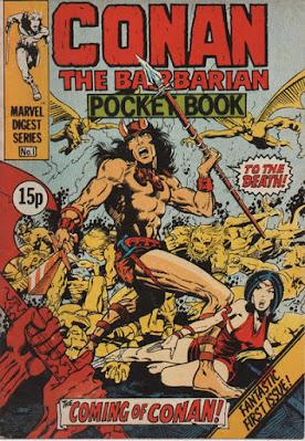 Conan the Barbarian pocket book #1