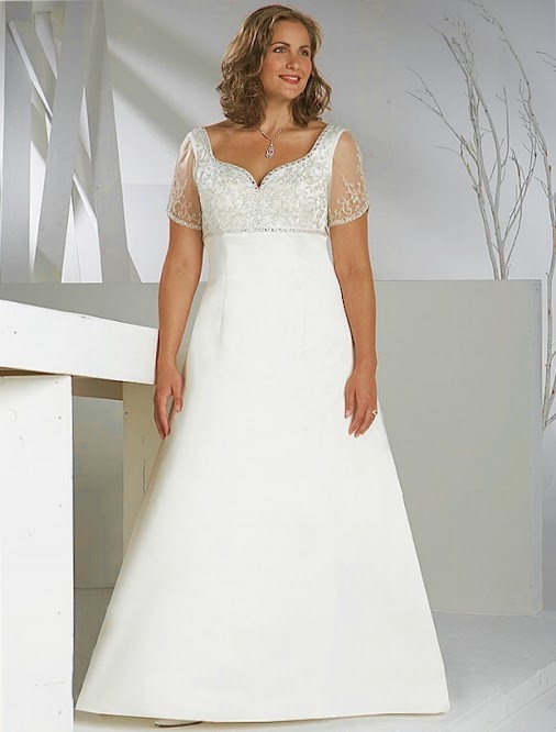 Plus Size Modest Wedding Dress 23 Amazing