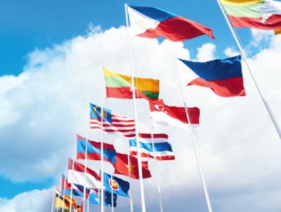 Bendera Negara di Asia Tenggara
