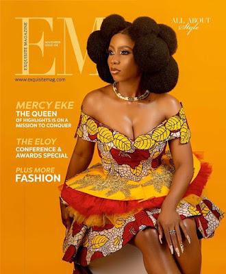 #BBNaija Winner Mercy Eke exquisite magazine cover