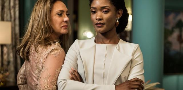 O Outro Lado do Paraíso: Clara descobre que Raquel é a nova juíza da cidade