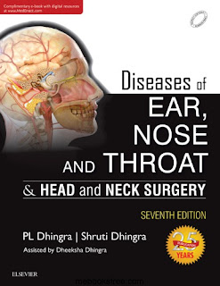 Diseases of Ear, Nose and Throat & Head and Neck Surgery - P L Dhingra, Shruti Dhingra