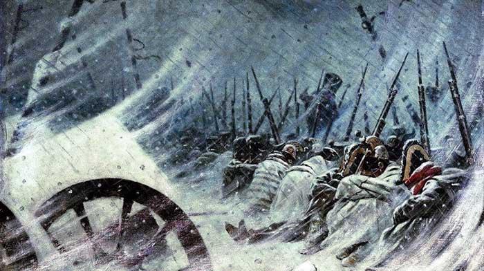 Musim Dingin Rusia Melemahkan Militer Swedia