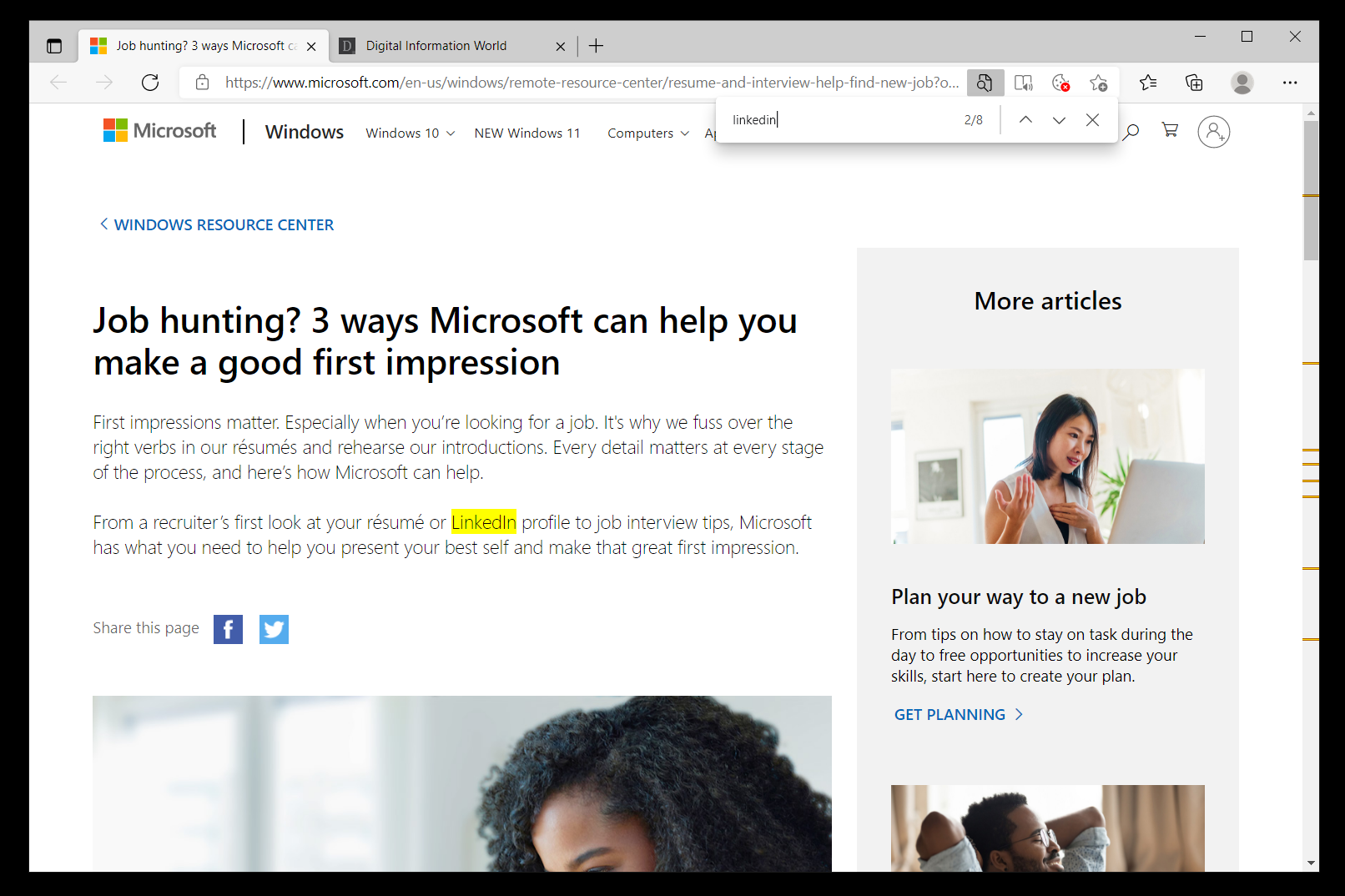 Microsoft Found A Clever Way to Promote Its Social Network On Its Famous OS, LinkedIn Ads Can Be Seen Now On Windows Lock Screen