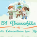 51 Benefits of Arts Education For Kids #infographic
