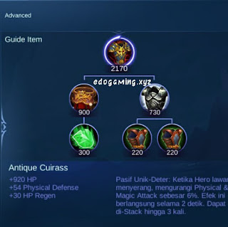penjelasan lengkap item mobile legends item courage mask