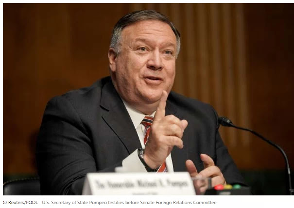 Pompeo says U.S. has improved scope of Iran metals sanctions