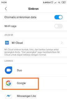Kluarkan gmail