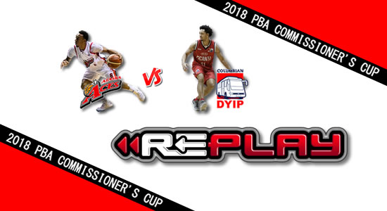 Video Playlist: Alaska vs Columbian game replay May 4, 2018 PBA Commissioner's Cup