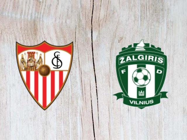 Watch Sevilla vs Zalgiris Vilnius - Highlights