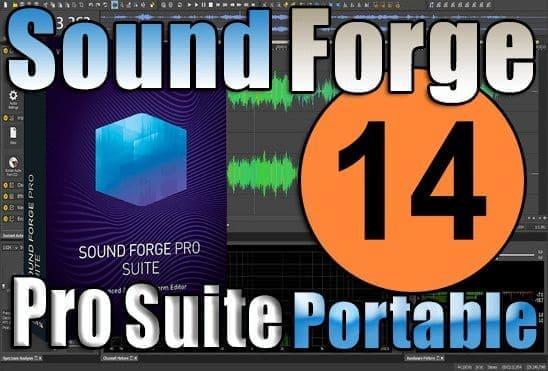 تحميل برنامج SOUND FORGE Pro Suite 14 Portable عملاق الهندسة الصوتية نسخة محمولة مفعلة