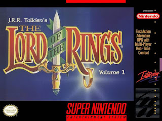 JRR Tolkien's The Lord of the Rings: Volume 1 (BR) [ SNES ]