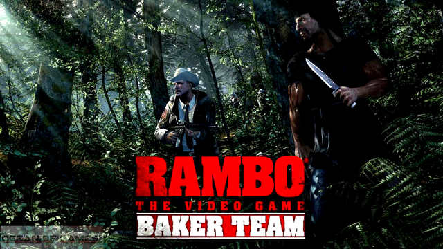 RAMBO THE VIDEO GAME BAKER TEAM-SKIDROW