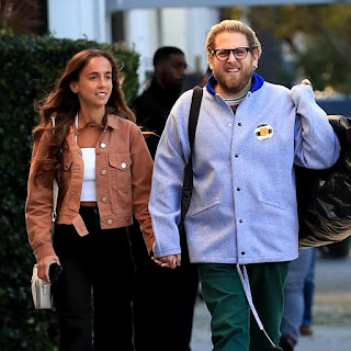 Gianna Santos and Jonah Hill