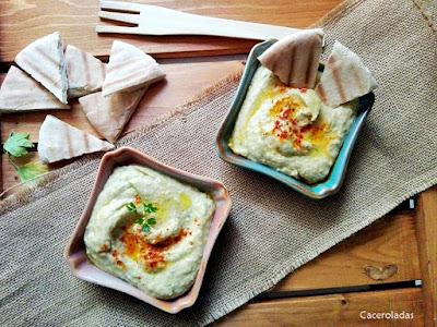 Hummus de berenjenas