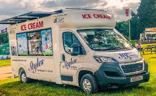 StylesSolar Ice-Cream Van