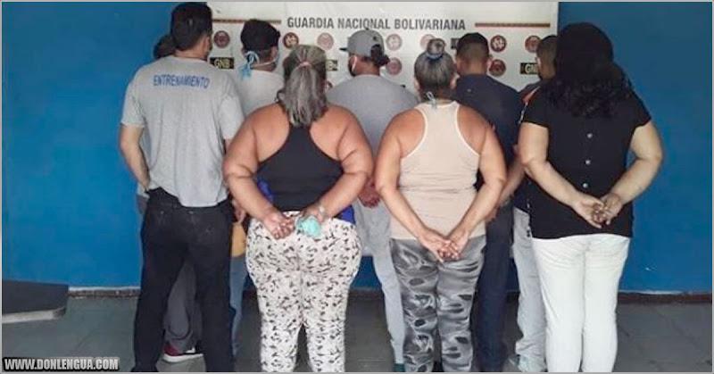 9 personas detenidas por vender cupos en la cola para la gasolina de una bomba