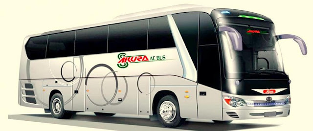 Sakura Paribahan All Counters, Contacts, Ticket Prices and Route