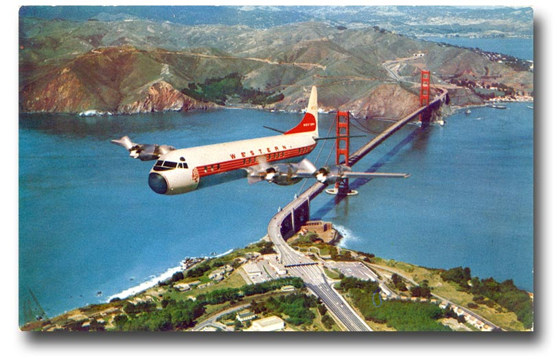 LOCKHEED L-188 ELECTRA IS AN AMERICAN TURBOPROP AIRLINER