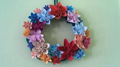Kwiaty z origami