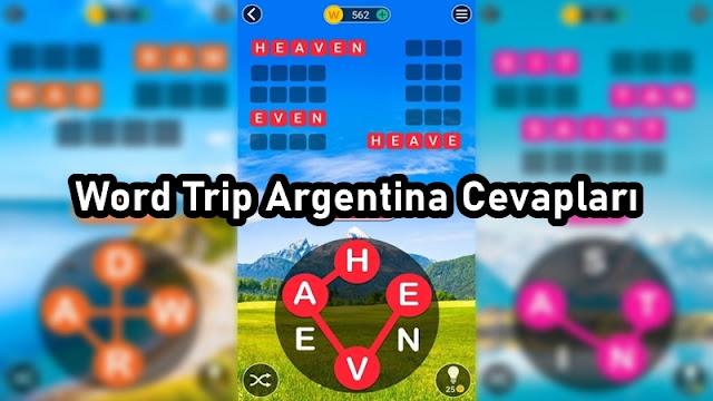 Word Trip Argentina Cevaplari