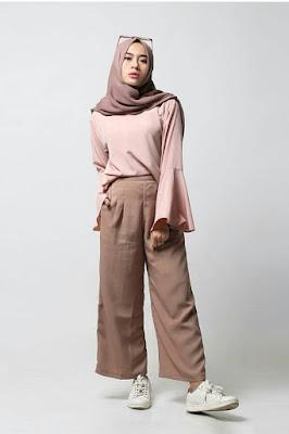 gaya hijab yang casual pakaian hijab yang casual