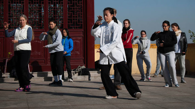 Club Meditation: China's spiritual tourism boom
