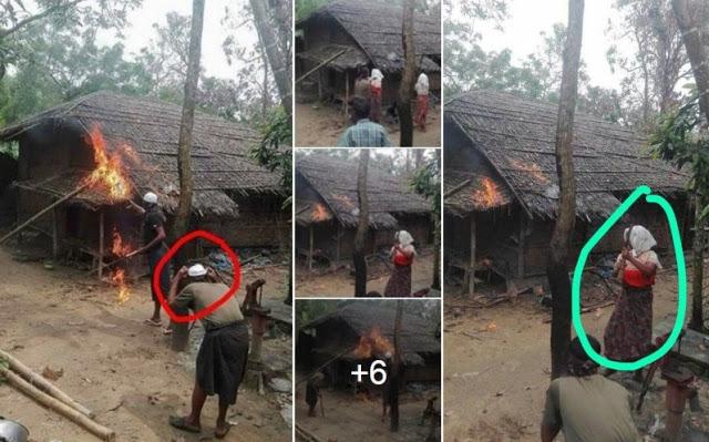 Propaganda Murahan Untuk Menyalahkan Rohingya Malah Terbongkar
