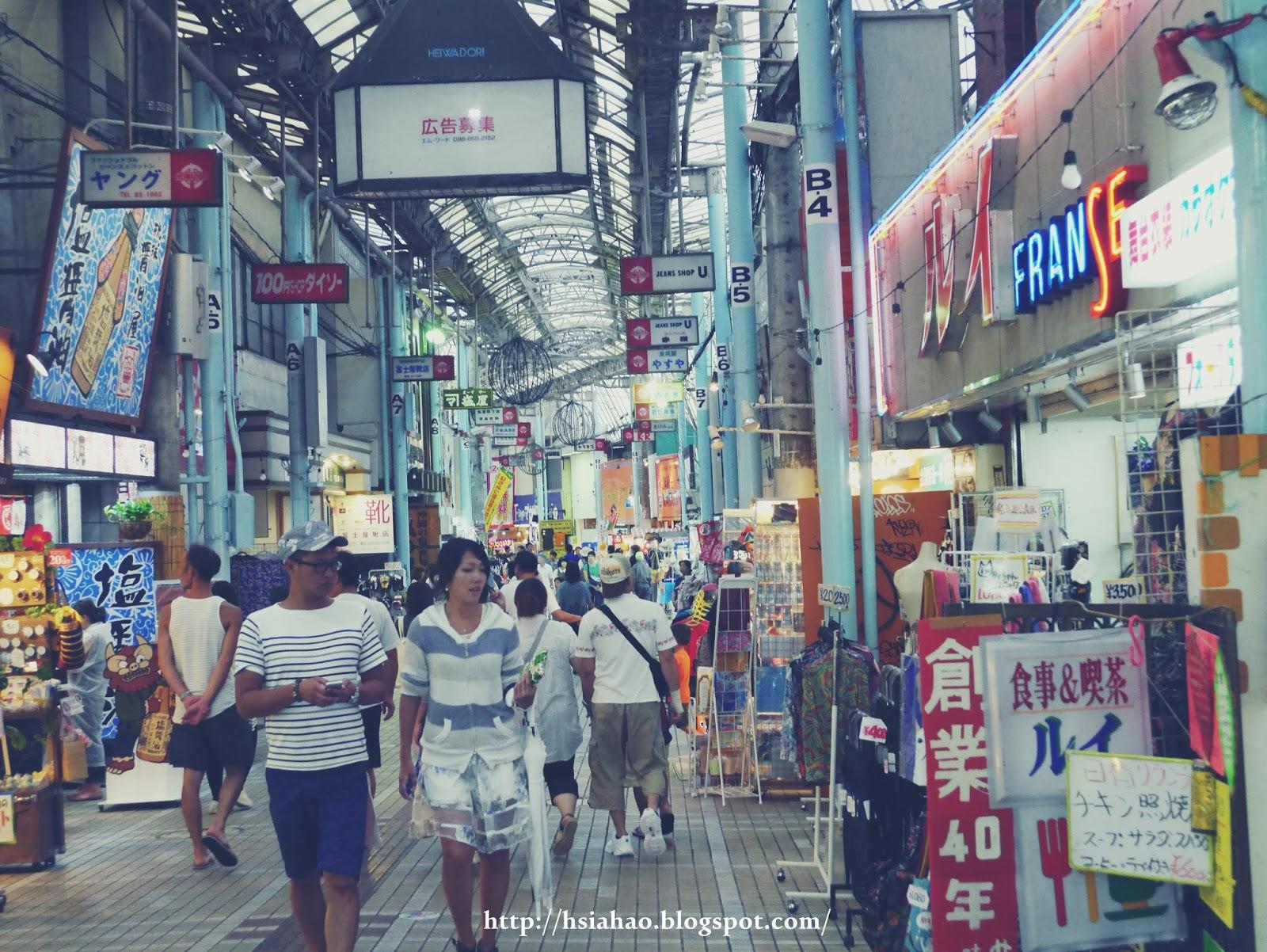 沖繩-國際通-牧志公設市場-平和通-浮島通-逛街-購物-逛街-景點-自由行-Okinawa-kokusaidori