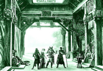 Una muestra de la compleja escenografía ideada para la tetralogía.