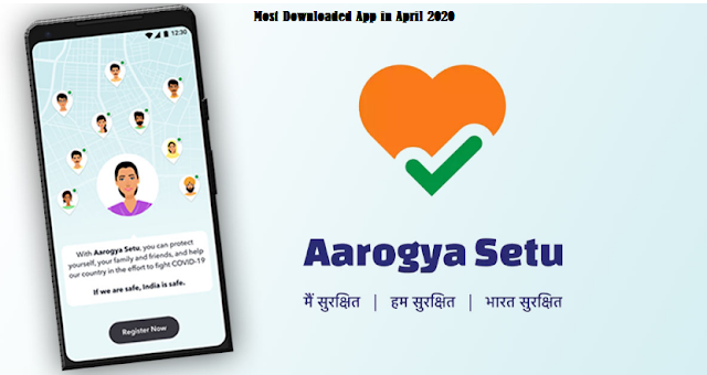 Aarogya Setu App Most Downloaded App in Android and Iphone
