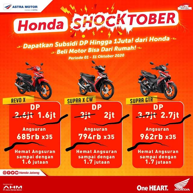 Promo Honda Shocktober