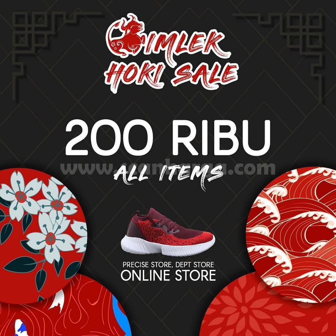 Promo PRECISE Shoes IMLEK HOKI SALE! 200 RIBU All Item