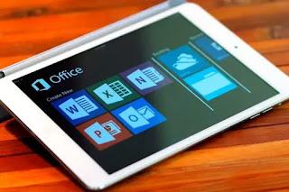 tablet memiliki hampir semua aplikasi laptop