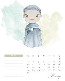 Harry Potter: Calendario 2020 para Imprimir Gratis.