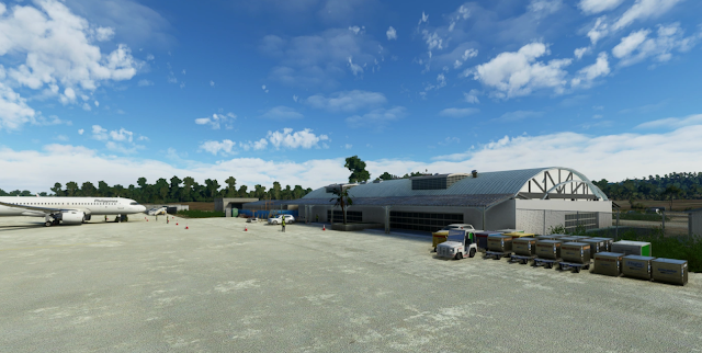 Busuanga Airport RPVV, Philippines