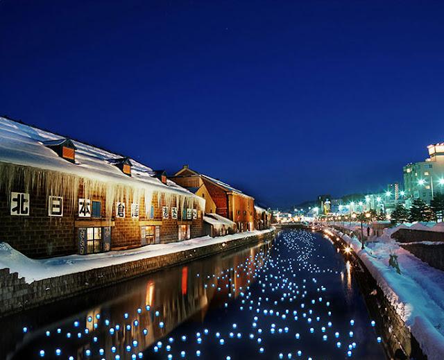 Snow Story Event, Otaru City, Hokkaido