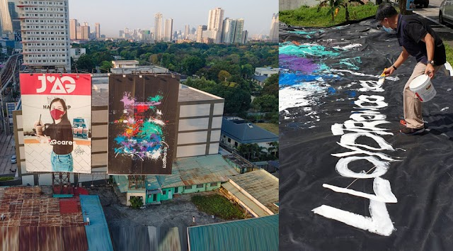 How I painted the Philippines' Largest Abstract Painting