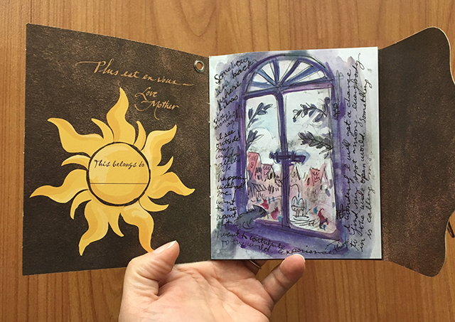 Tangled Before Ever After - Rapunzel's journal