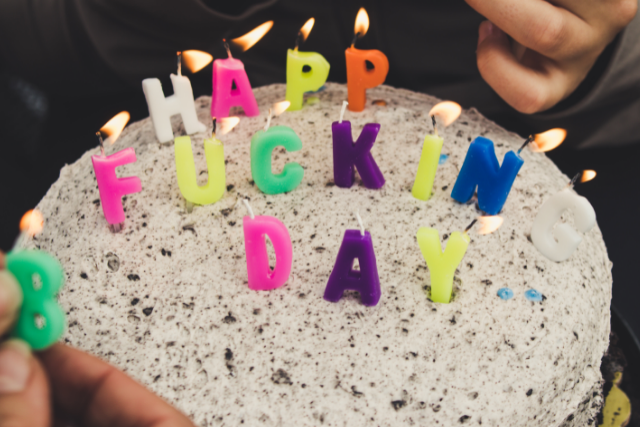Free birthday images with candle