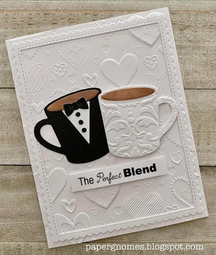 Coffee Mug Wedding Card
